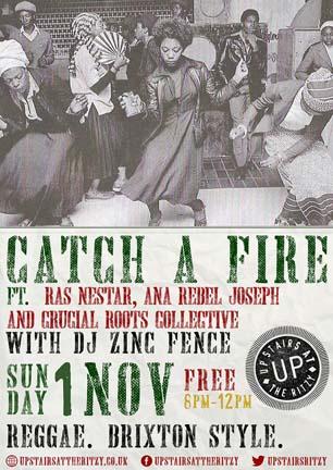 Catch A Fire Reggae Night
