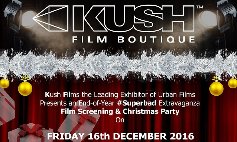 Kush Xmas Christmas Party 2016