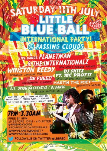 Little Blue Ball July 2015