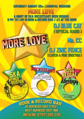 MORE LOVE Ska and Reggae Night