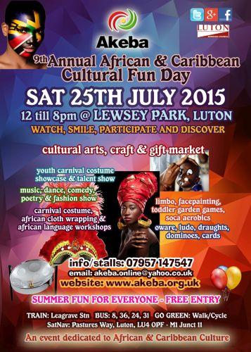 African & Caribbean Cultural Fun Day 2015