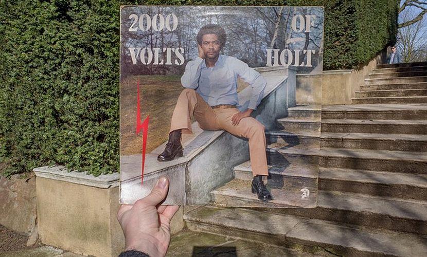 Covers John Holt 2000 Volts of Holt Trojan Records 1976
