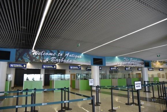 Antigua Barbuda Airport Terminal