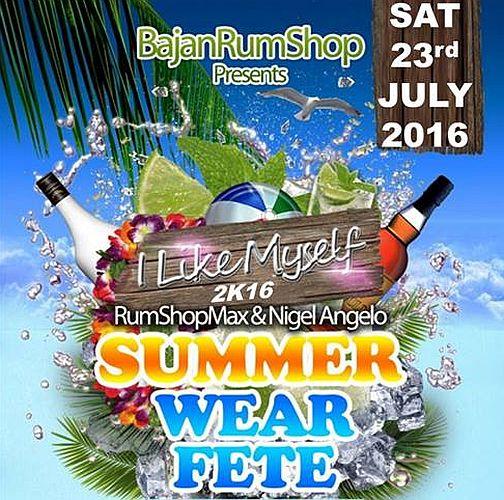 BajanRumShop Raw Licquer Summer Wear Fete