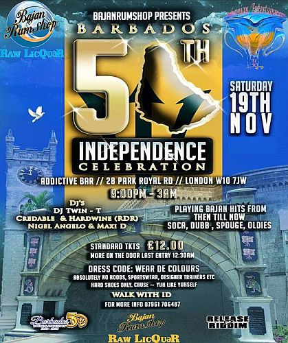 Barbados 50th Independence Celebration