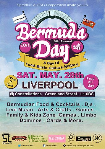2nd Annual Bermuda Day UK 2016 - Liverpool Family Event