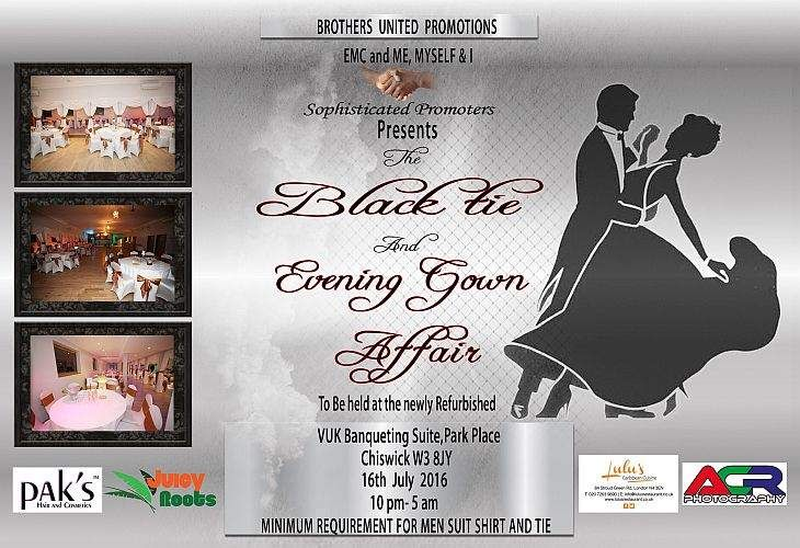 Black Tie and Evening Gown Affair