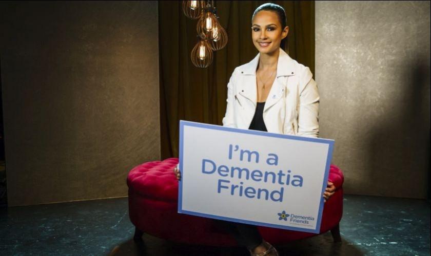 Alesha Dixon Dementia Friend Campaign