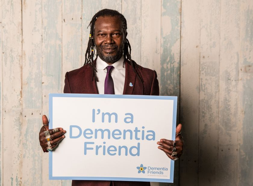 Levi Roots Dementia Friend Campaign 2014