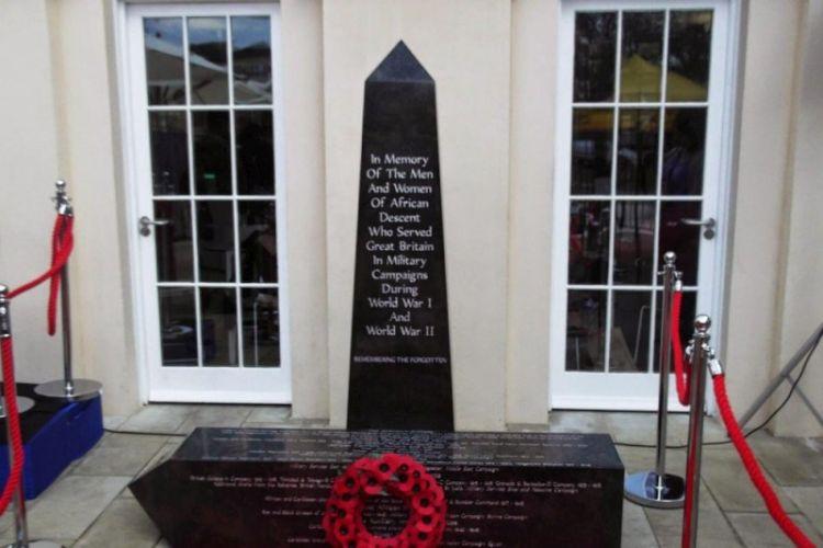 Caribbean War Veteran memorial