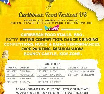 Caribbean Food festival UK