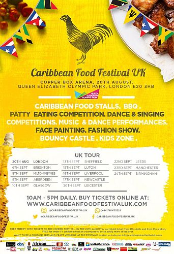 Caribbean Food festival UK