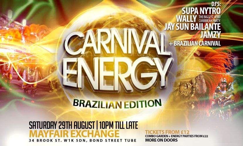 Carnival Energy Brazilian Edition 2015