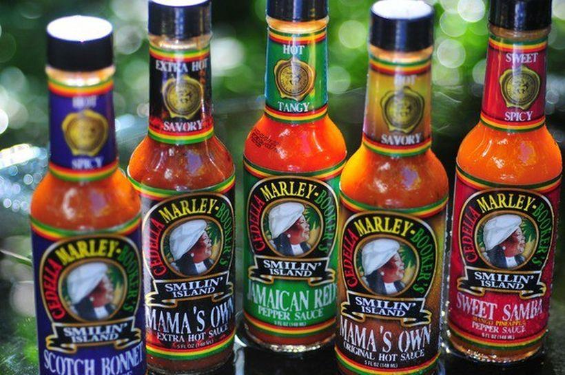 Cedella Marley Smilin Island Sauces