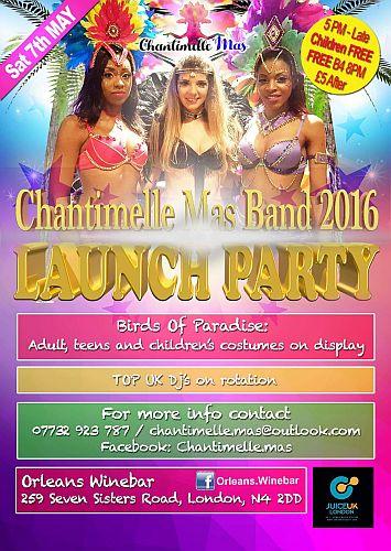 Chantimelle Mas Band 2016 Presents