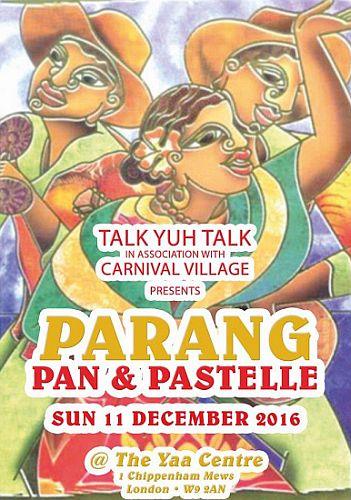 Christmas Parang Pan Pastelle 2016