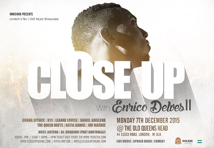 Close Up Event December 2015