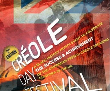 Creole Day 2015 UK flyer