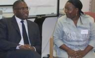 MP David Lammy and Martha Muli