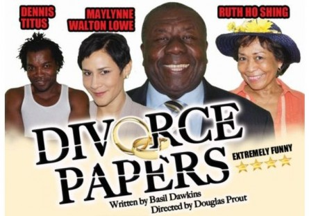 Divorce Papers Oliver Samuels Theatre