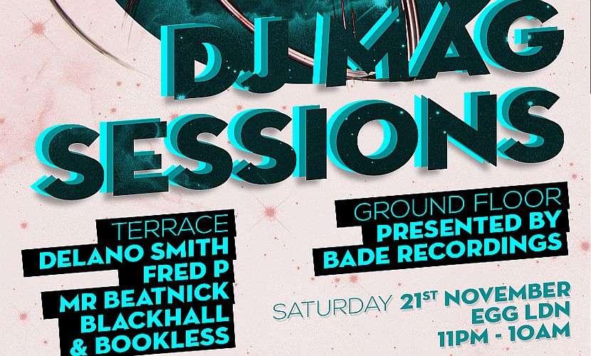 DJ Mag Sessions November 2015