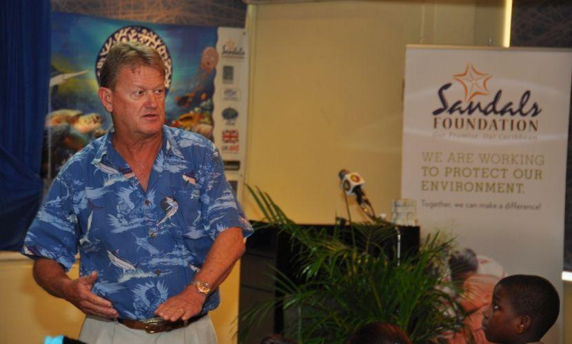Dr. Guy Harvey of the Guy Harvey Ocean Foundation