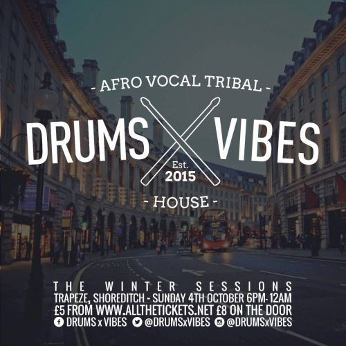 Drum X Vibes Flyer 2015