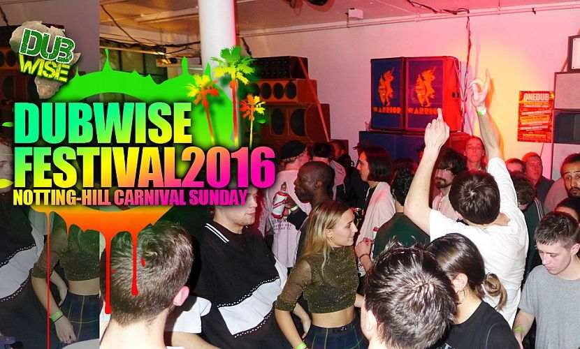 Dubwise Carnival Sunday Party