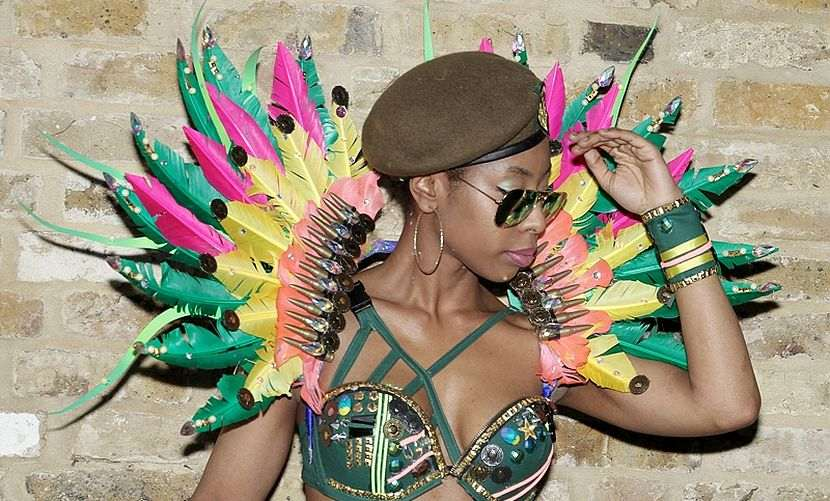 Ebony Mas Band Costume