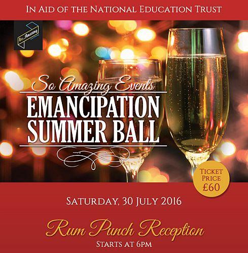 Emancipation Day Summer Ball 2016