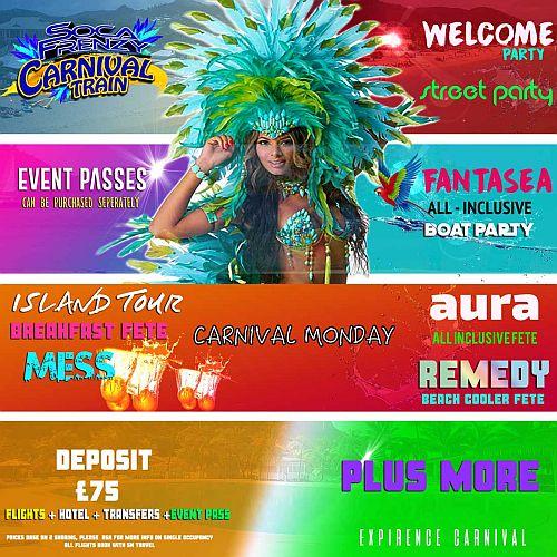 Soca Frenzy Carnival Train
