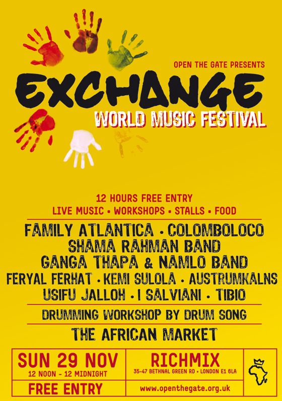 exchange World Music Festival