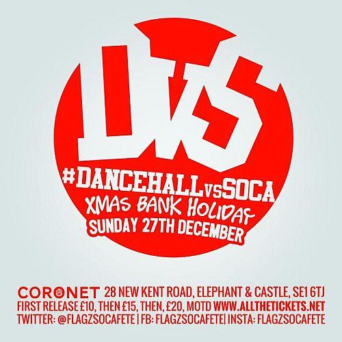 Dancehall vs. SOCA