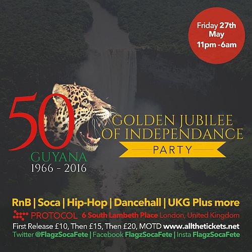 Guyana 50th Anniversary Party