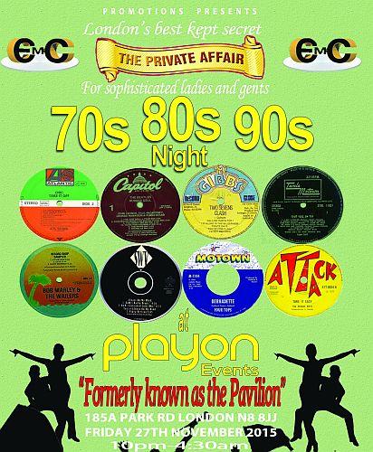 70s 80s 90s EMC Party