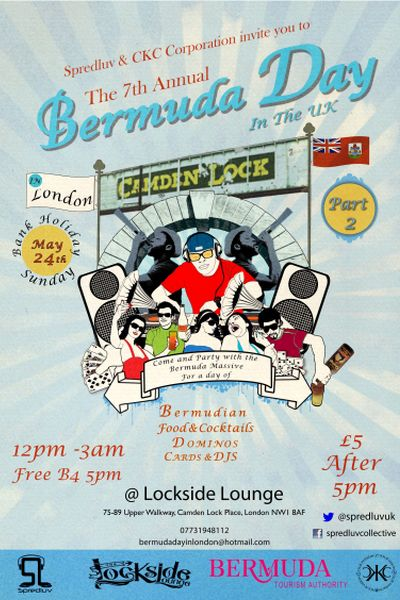 Bermuda Day UK 2015