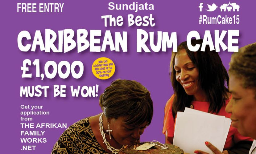 Caribbean Rum Cake Competition