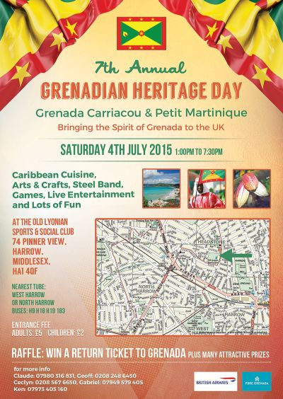 Grenadian Heritage Day 2015