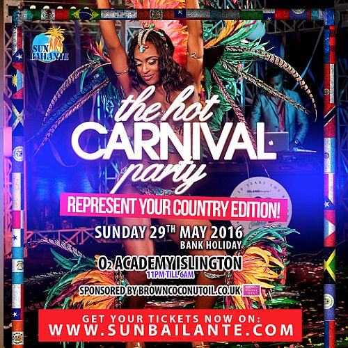Hot Carnival Party May 2016