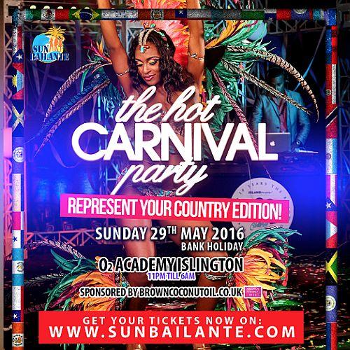 Hot Carnival Party May 2016