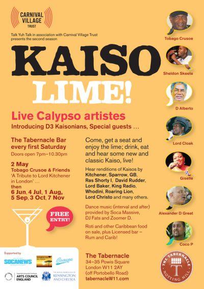 Kaiso Lime 2015