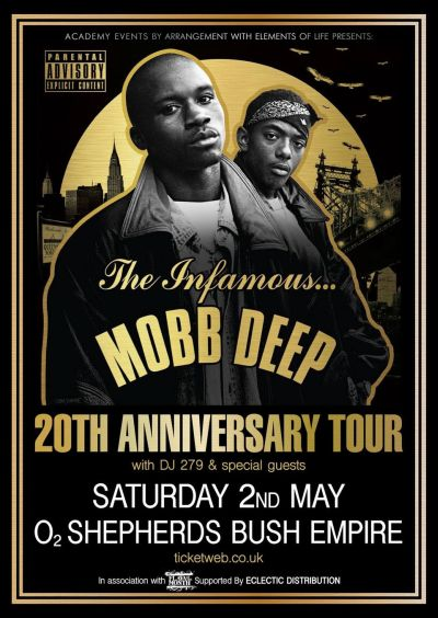 Mobb Deep 2015 London