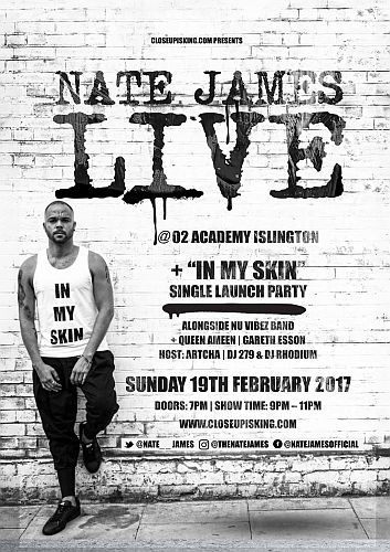 Nate James Live
