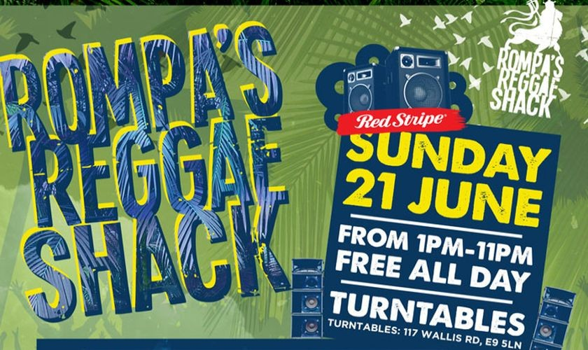 Rompas Reggae Shack June 2015
