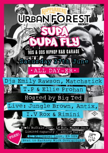 Supa Dupa Fly 2015 All Dayer