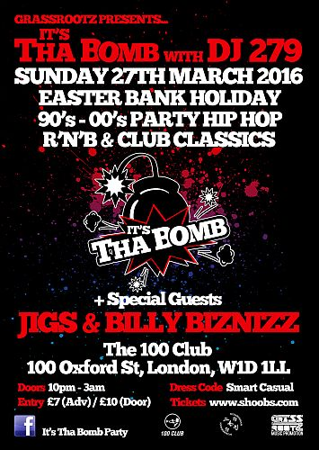 It's Tha Bomb Easter Bank Holiday special