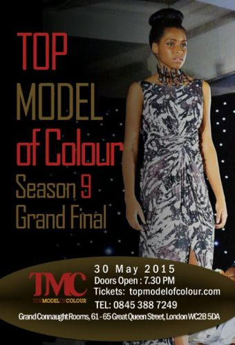 Top Models of Colour 2015