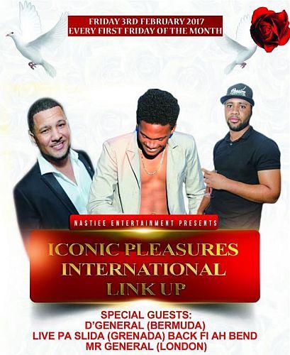 Iconic PLeasures International Link Up