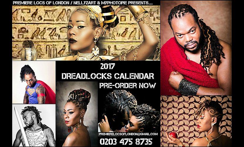2017 Dreadlocks Calendar