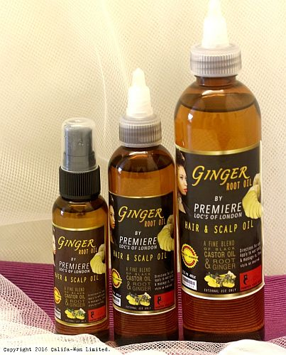 Ginger Root Oil Hair Product